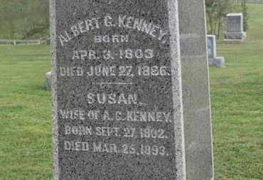 KENNEY, SUSAN - Delaware County, Ohio | SUSAN KENNEY - Ohio Gravestone Photos