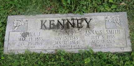 SMITH KENNEY, ANNA S. - Delaware County, Ohio | ANNA S. SMITH KENNEY - Ohio Gravestone Photos