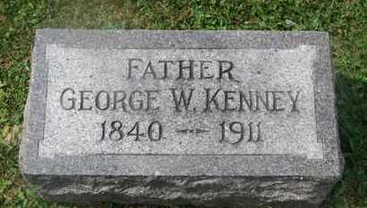 KENNEY, GEORGE W. - Delaware County, Ohio | GEORGE W. KENNEY - Ohio Gravestone Photos