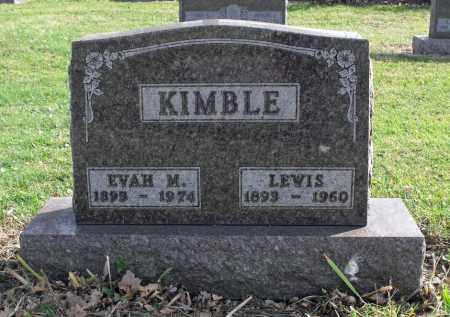 KIMBLE, LEWIS - Delaware County, Ohio | LEWIS KIMBLE - Ohio Gravestone Photos