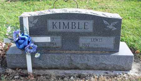 KIMBLE, MARTHA - Delaware County, Ohio | MARTHA KIMBLE - Ohio Gravestone Photos