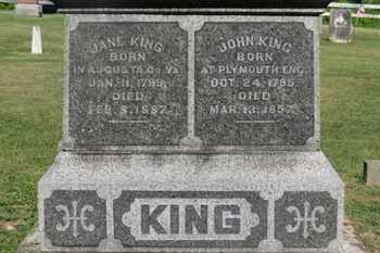 KING, JANE - Delaware County, Ohio | JANE KING - Ohio Gravestone Photos