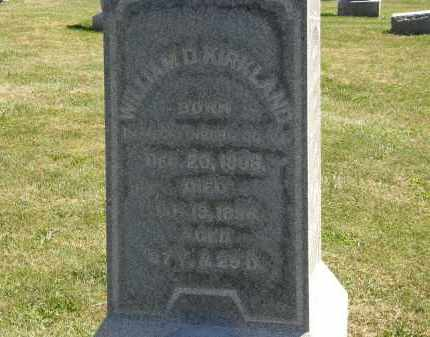 KIRKLAND, WILLIAM D. - Delaware County, Ohio | WILLIAM D. KIRKLAND - Ohio Gravestone Photos