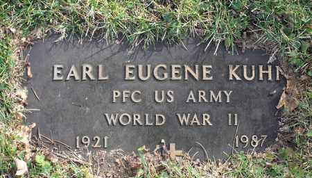KUHN, EARL EUGENE - Delaware County, Ohio | EARL EUGENE KUHN - Ohio Gravestone Photos