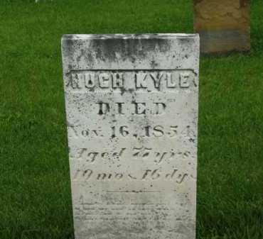 KYLE, HUGH - Delaware County, Ohio | HUGH KYLE - Ohio Gravestone Photos
