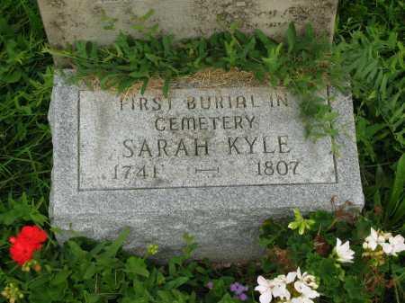 KYLE, SARAH - Delaware County, Ohio | SARAH KYLE - Ohio Gravestone Photos