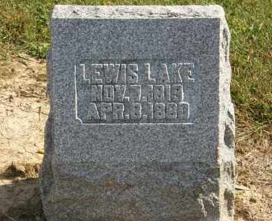 LAKE, LEWIS - Delaware County, Ohio | LEWIS LAKE - Ohio Gravestone Photos