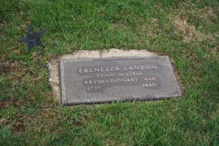 LANDON, EBENEZER - Delaware County, Ohio | EBENEZER LANDON - Ohio Gravestone Photos