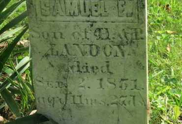 LANDON, SAMUEL F. - Delaware County, Ohio | SAMUEL F. LANDON - Ohio Gravestone Photos
