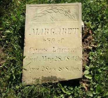 LARCOM, MARGARET - Delaware County, Ohio | MARGARET LARCOM - Ohio Gravestone Photos