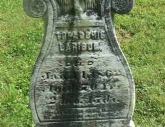 LARISON, THEADORIS - Delaware County, Ohio | THEADORIS LARISON - Ohio Gravestone Photos