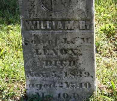 LENOX, J. - Delaware County, Ohio | J. LENOX - Ohio Gravestone Photos