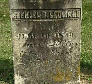 LEONARD, EZEKIEL - Delaware County, Ohio | EZEKIEL LEONARD - Ohio Gravestone Photos