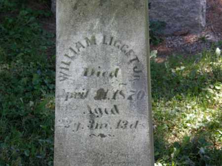 LIGGET, WILLIAM JR. - Delaware County, Ohio | WILLIAM JR. LIGGET - Ohio Gravestone Photos
