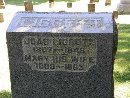 LIGGETT, JOAB - Delaware County, Ohio | JOAB LIGGETT - Ohio Gravestone Photos