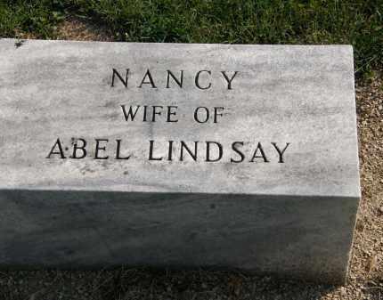 LINDSAY, NANCY - Delaware County, Ohio | NANCY LINDSAY - Ohio Gravestone Photos