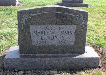 DAVIS LINDSEY, MARLENE - Delaware County, Ohio | MARLENE DAVIS LINDSEY - Ohio Gravestone Photos