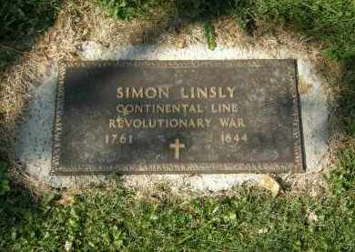 LINSLY, SIMON - Delaware County, Ohio | SIMON LINSLY - Ohio Gravestone Photos