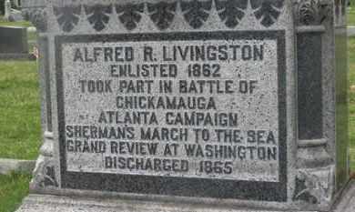 LIVINSTON, ALFRED R. - Delaware County, Ohio | ALFRED R. LIVINSTON - Ohio Gravestone Photos
