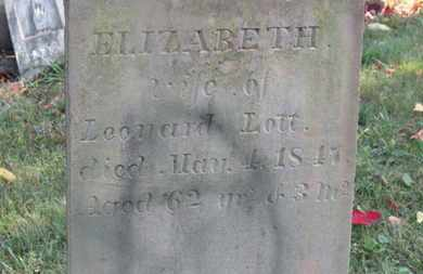LOTT, ELIZABETH - Delaware County, Ohio | ELIZABETH LOTT - Ohio Gravestone Photos