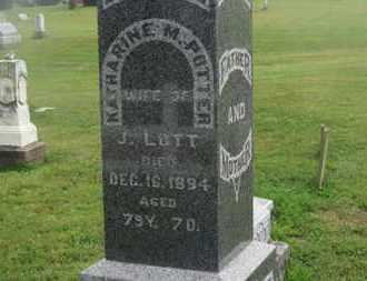 LOTT, J. - Delaware County, Ohio | J. LOTT - Ohio Gravestone Photos