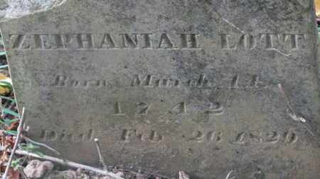 LOTT, ZEPHANIAH - Delaware County, Ohio | ZEPHANIAH LOTT - Ohio Gravestone Photos