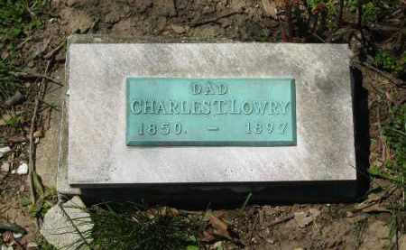 LOWRY, CHARLES T. - Delaware County, Ohio | CHARLES T. LOWRY - Ohio Gravestone Photos