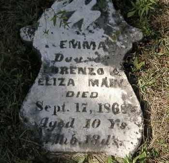 MAIN, EMMA - Delaware County, Ohio | EMMA MAIN - Ohio Gravestone Photos