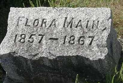 MAIN, FLORA - Delaware County, Ohio | FLORA MAIN - Ohio Gravestone Photos