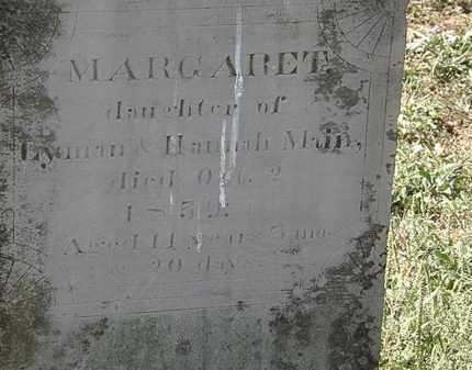 MAIN, MARGARET - Delaware County, Ohio | MARGARET MAIN - Ohio Gravestone Photos