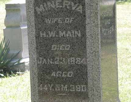 MANN, MINERVA - Delaware County, Ohio | MINERVA MANN - Ohio Gravestone Photos