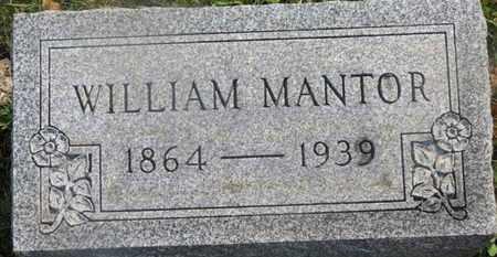 MANTOR, WILLIAM - Delaware County, Ohio | WILLIAM MANTOR - Ohio Gravestone Photos