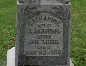 MARSH, CATHARINE - Delaware County, Ohio | CATHARINE MARSH - Ohio Gravestone Photos