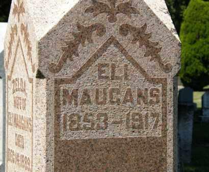 MAUGANS, ELI - Delaware County, Ohio | ELI MAUGANS - Ohio Gravestone Photos