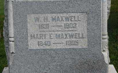 MAXWELL, MARY E. - Delaware County, Ohio | MARY E. MAXWELL - Ohio Gravestone Photos