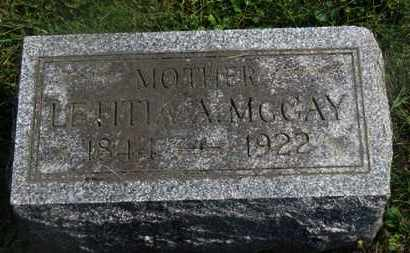 MCCAY, LETITIA - Delaware County, Ohio | LETITIA MCCAY - Ohio Gravestone Photos