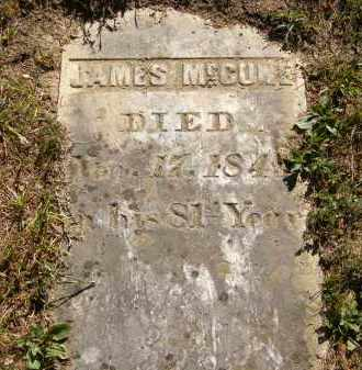 MCCUNE, JAMES - Delaware County, Ohio | JAMES MCCUNE - Ohio Gravestone Photos