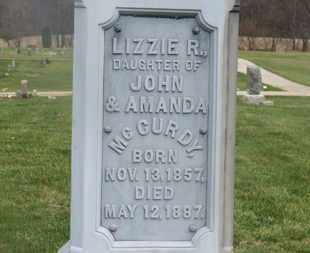 MCCURDY, LIZZIE R. - Delaware County, Ohio | LIZZIE R. MCCURDY - Ohio Gravestone Photos
