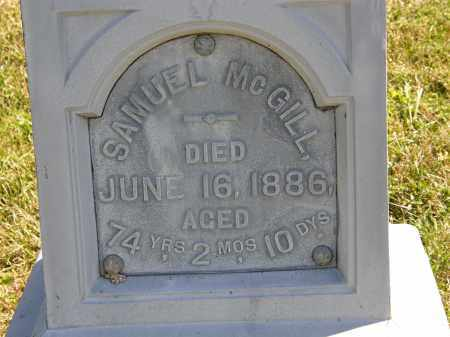 MCGILL, SAMUEL - Delaware County, Ohio | SAMUEL MCGILL - Ohio Gravestone Photos