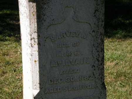 MCILVAIN, HARVEY N. - Delaware County, Ohio | HARVEY N. MCILVAIN - Ohio Gravestone Photos