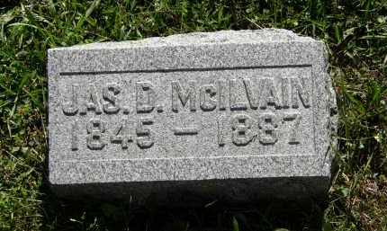 MCILVAIN, JAS. D. - Delaware County, Ohio | JAS. D. MCILVAIN - Ohio Gravestone Photos