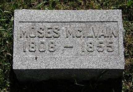 MCILVAIN, MOSES - Delaware County, Ohio | MOSES MCILVAIN - Ohio Gravestone Photos