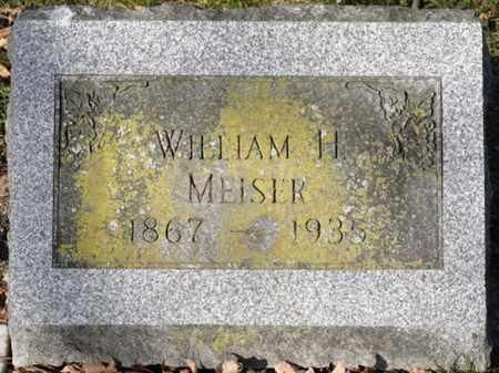MEISER, WILLIAM H. - Delaware County, Ohio | WILLIAM H. MEISER - Ohio Gravestone Photos