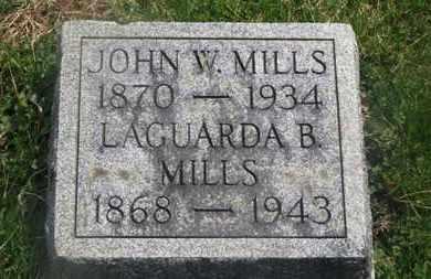 MILLS, JOHN W. - Delaware County, Ohio | JOHN W. MILLS - Ohio Gravestone Photos