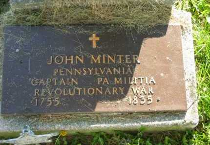 MINTER, JOHN - Delaware County, Ohio | JOHN MINTER - Ohio Gravestone Photos