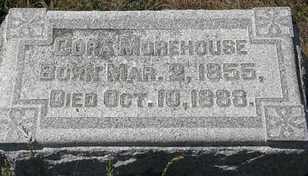 MOREHOUSE, CORA - Delaware County, Ohio | CORA MOREHOUSE - Ohio Gravestone Photos