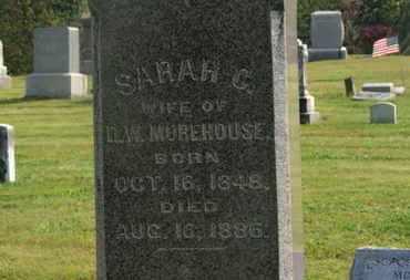 MOREHOUSE, SARAH C. - Delaware County, Ohio | SARAH C. MOREHOUSE - Ohio Gravestone Photos