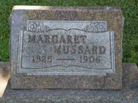 MUSSARD, MARGARET - Delaware County, Ohio | MARGARET MUSSARD - Ohio Gravestone Photos