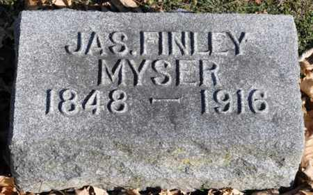 MYSER, JAMES FINLEY - Delaware County, Ohio | JAMES FINLEY MYSER - Ohio Gravestone Photos