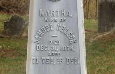 NELSON, MARTHA - Delaware County, Ohio | MARTHA NELSON - Ohio Gravestone Photos